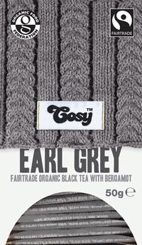 Cosy Earl Grey Organic FairTrade tee
