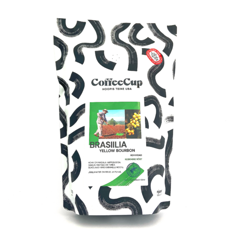 Brazil Yellow Bourbon Fine Cup Rainforest Alliance 1KG