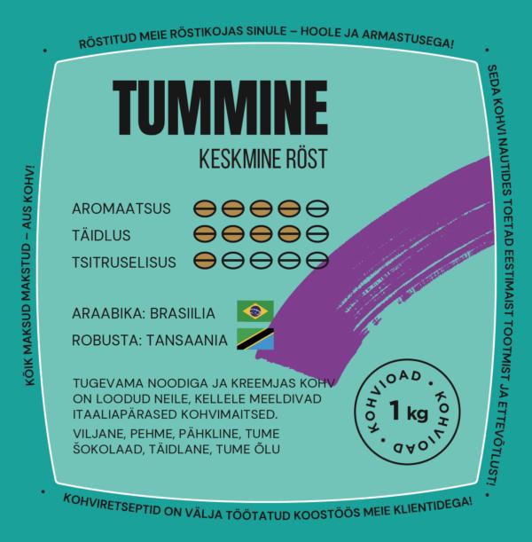 CoffeeCup Tummine 1kg