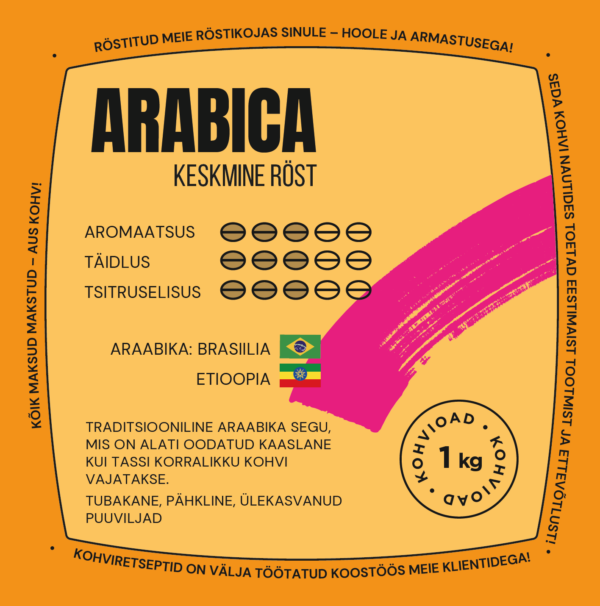 CoffeeCup 100% Arabica uba