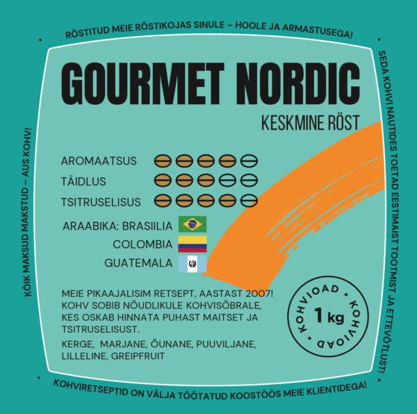 CoffeeCup Gourmet, keskmine (Nordic) röst