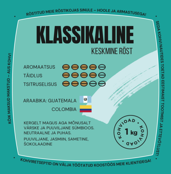 Coffeecup Klassikaline oakohv 1 kg