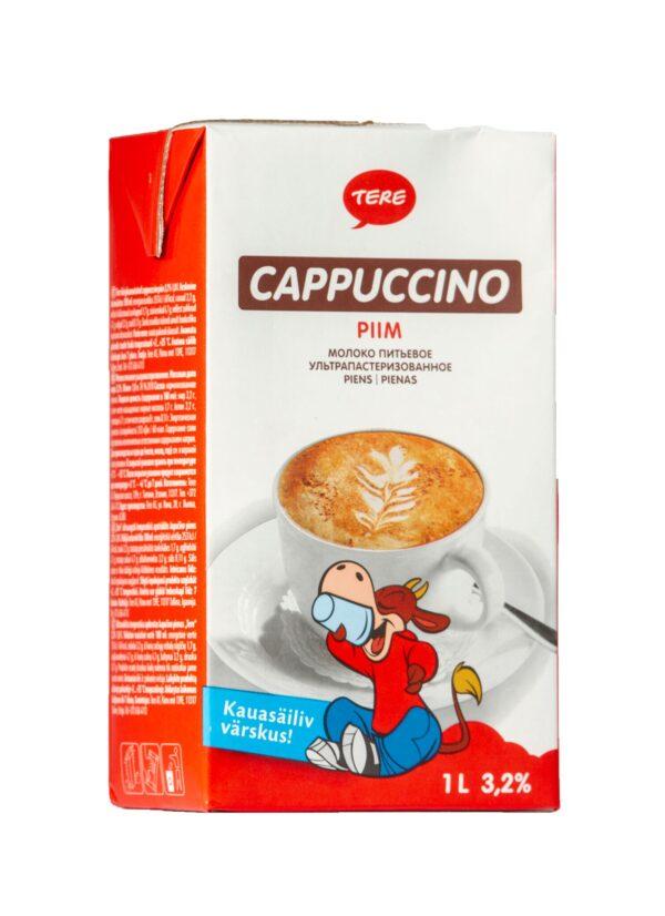 Kõrgkuumutatud Cappuccino täispiim UHT 3.2%