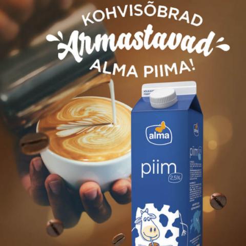 ALMA kohvipiim